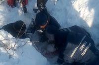 В Харьковской области девочка оказалась под двухметровым слоем снега