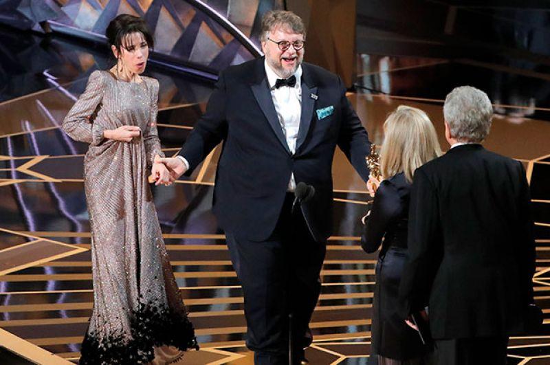 В номинации «Лучший фильм» победила картина режиссёра Гильермо дель Торо «Форма воды».