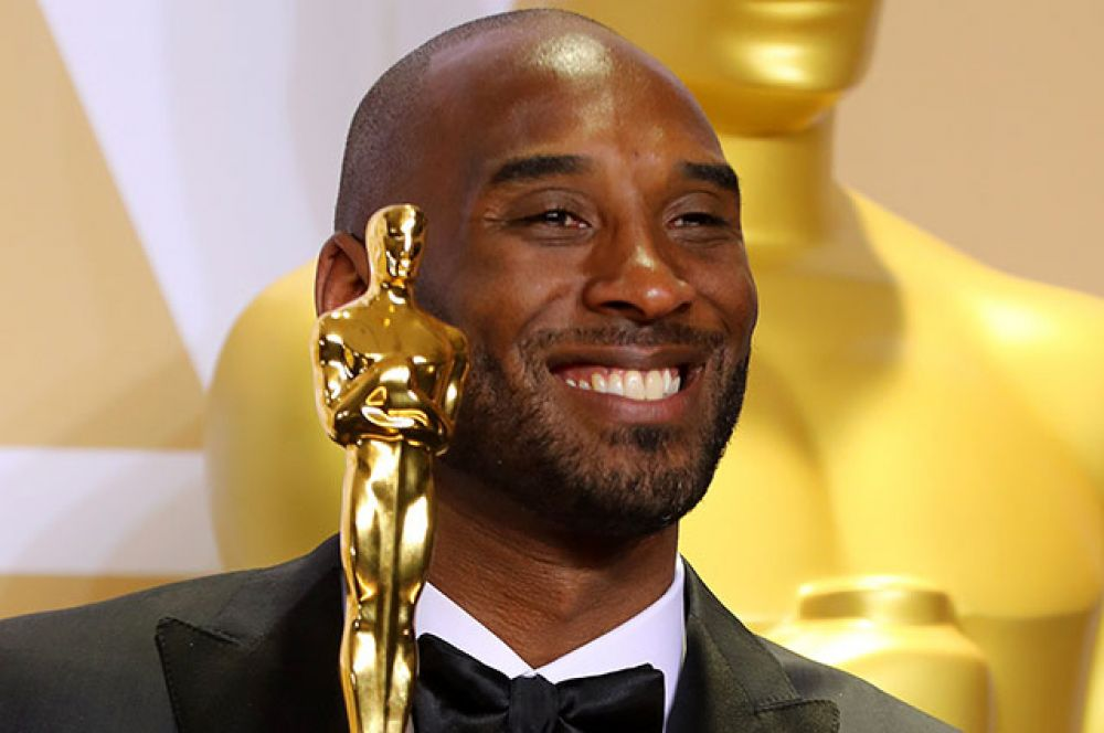 «Лучшим анимационным короткометражным фильмом» признан «Дорогой баскетбол». На фото: знаменитый баскетболист Коби Брайант, написавший сценарий к фильму.