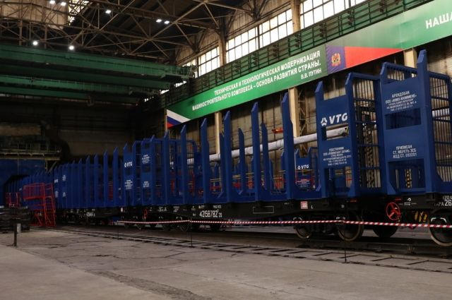 В Кемерове будут делать железнодорожные платформы для перевозки леса.