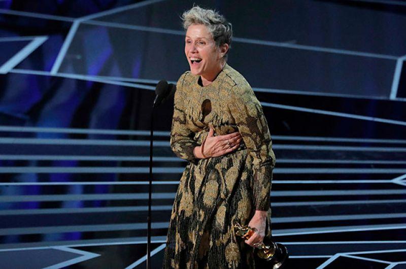 Лучшей актрисой признана Фрэнсис Макдорманд за роль в фильме «Три билборда на границе Эббинга, Миссури».