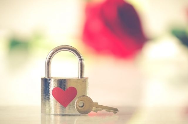 Мое сердце занято ключ у