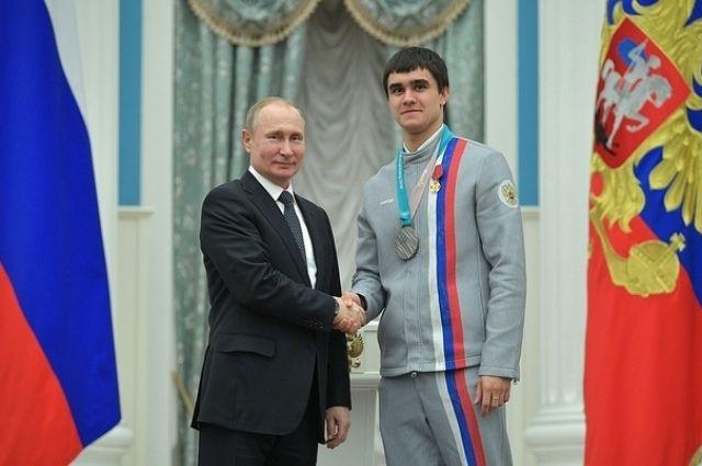 В свою время премию получал и олимпийский призер Никита Трегубов.