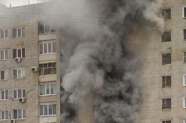 Современная квартира выгорает за 7-10 минут.