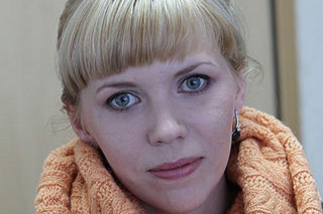 Руководитель пресс-службы Алтайского заксобрания Анна Якушева