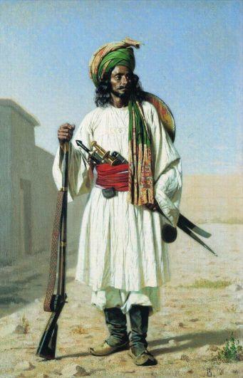 Василий Верещагин, «Афганец», 1867-1868