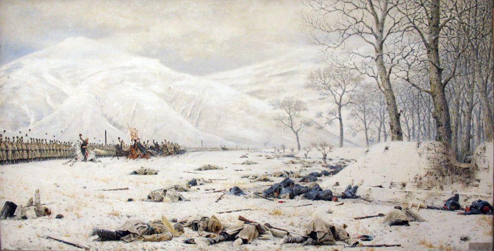 Василий Верещагин, «Шипка-Шейново. Скобелев под Шипкой», 1879 г.