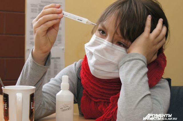 82 калининградца попали в больницы с диагнозами грипп и ОРВИ.