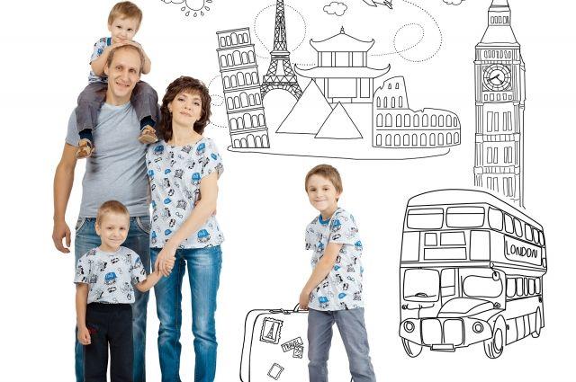 Семья Костарёвых мечтает путешествовать.