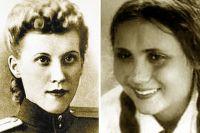 Елена Косова и Бибииран Алимова.