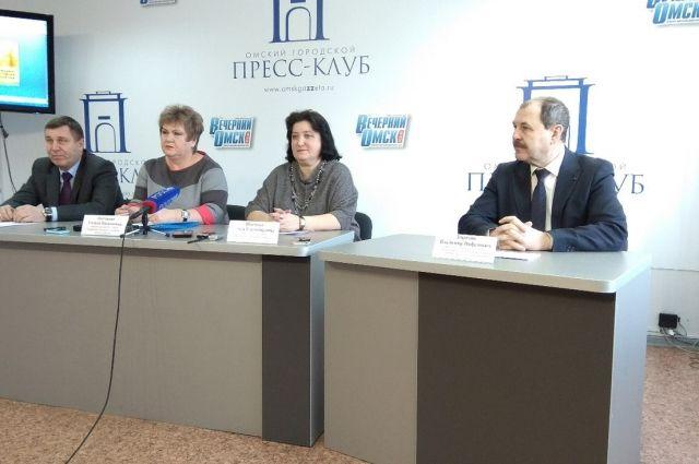На пресс-конференции обсудили подготовку к выставке.
