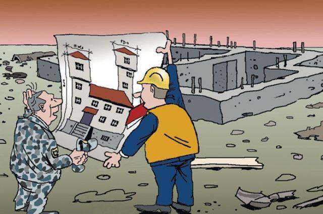 Компания-банкрот продолжает строить.
