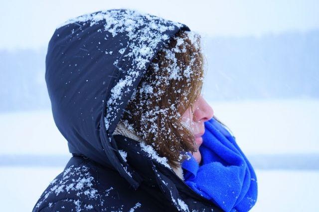 Впраздничные выходные Волгоград ожидает небольшой снег, ветер и-3ºС