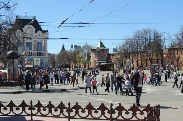 На площади Минина и Пожарского появится парк футбола Чемпионата мира.