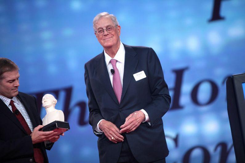 9-е место: Дэвид Кох, Koch Industries.
