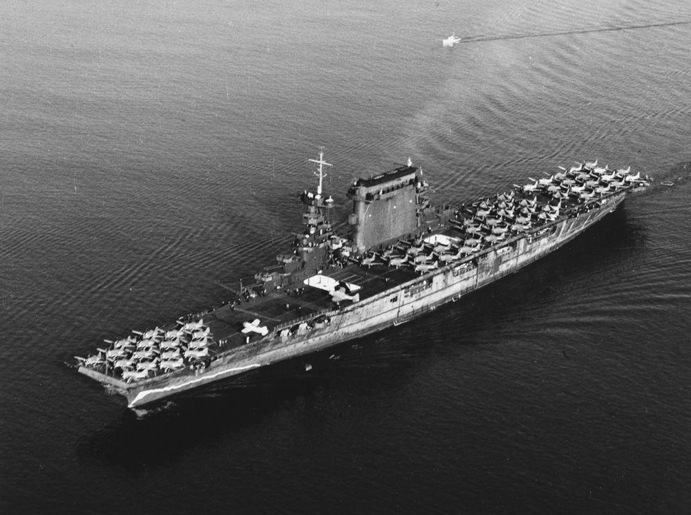 Lexington 14 октября 1941 года.