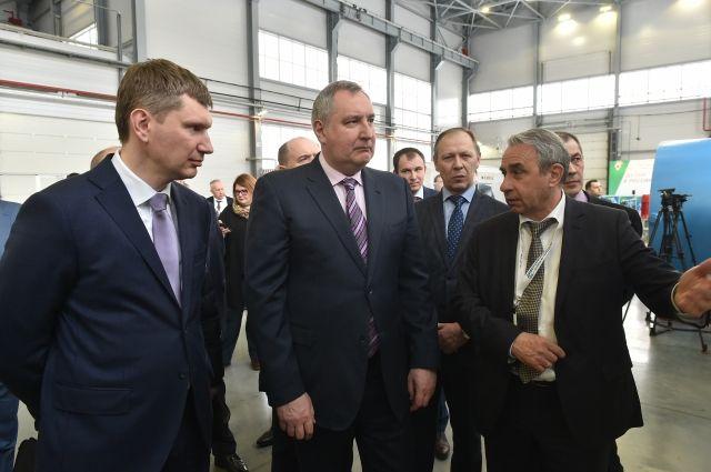 По словам Дмитрий Рогозина, пермские предприятия имеют свою визитную карточку.