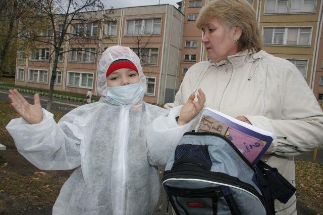 До 12 марта В Кургане объявили карантин по гриппу.