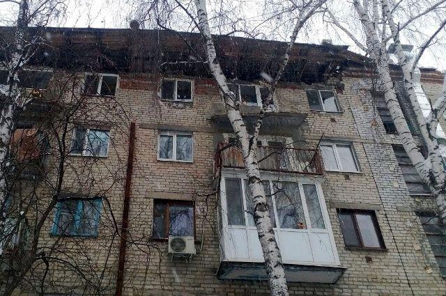 В тюменском центре танца отменили занятия из-за ЧП с крышей дома