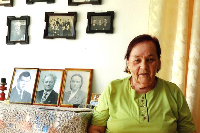 В этом году Анне Ивановне Самойловой исполнится 90 лет.