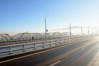 Закрыт въезд на Николаевский мост в районе левобережной развязки.