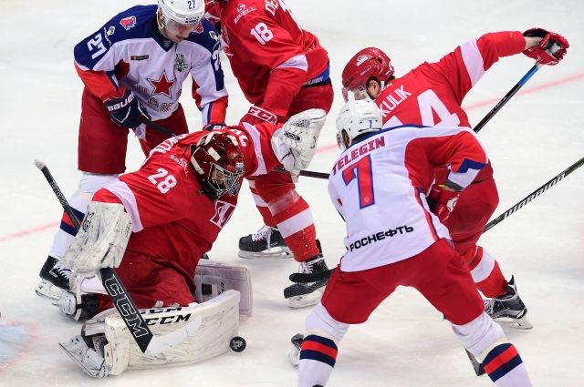 ЦСКА обыграл «Спартак» и вышел в четвертьфинал плей-офф КХЛ