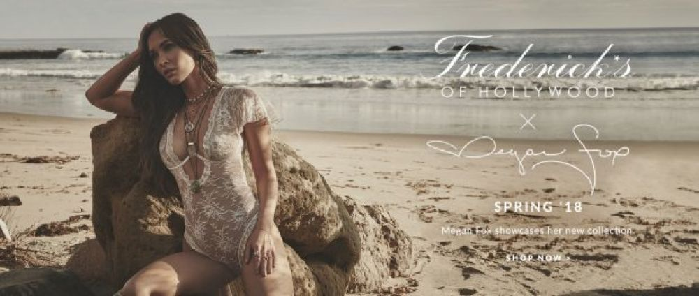 Голливудская актриса Меган Фокс снялась в соблазнительной фотосессии для рекламы нижнего белья.