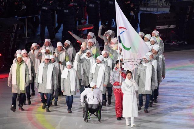 ВЮжной Корее прошла церемония открытия зимней Паралимпиады