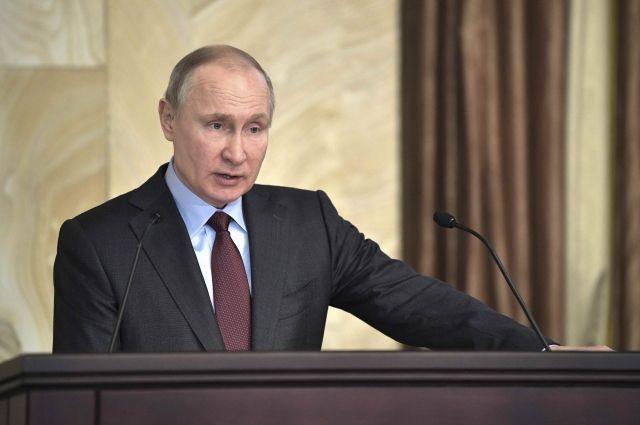 Путин назвал «фейковыми новостями» сообщения оприменении химоружия Дамаском