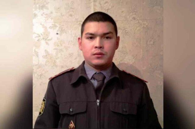 Капитан полиции стал профессиональным спасателем.
