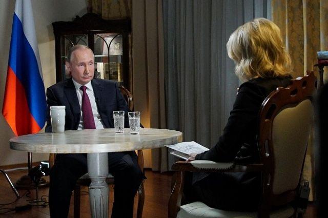 О чем Путин сказал в интервью NBC?