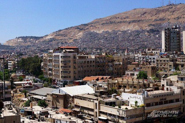 Боевики обстреляли Дамаск изминометов