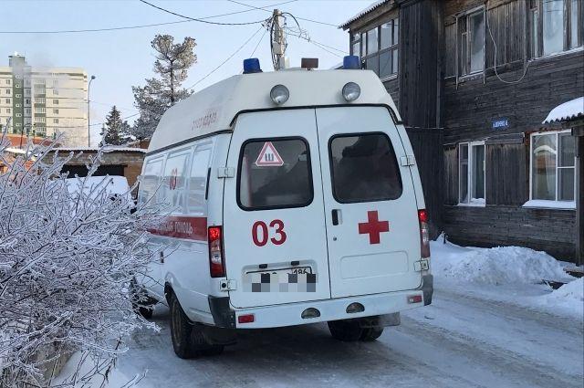 Из Очёра ребенка увезли в Пермь на лечение.