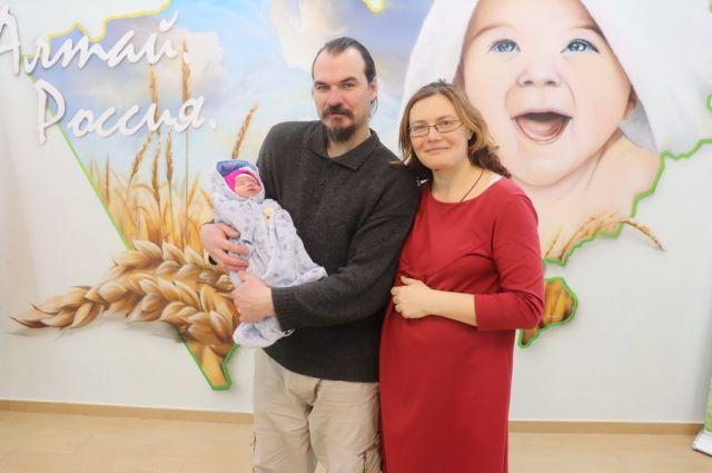 Семья Назаровых.