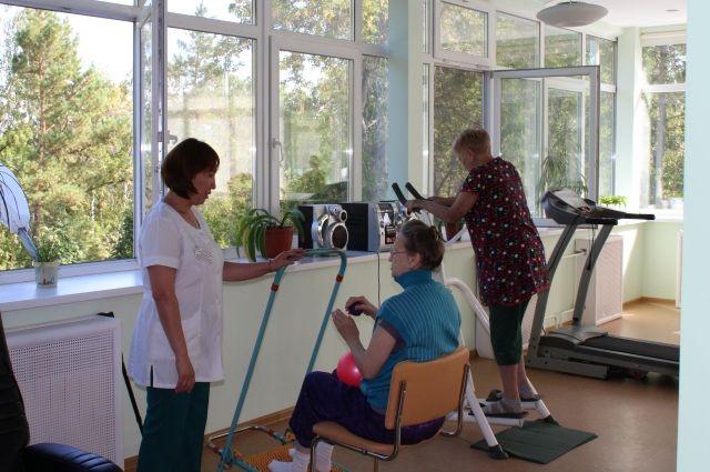 В Диагностическом центре разрабатывают индивидуальные программы реабилитации.