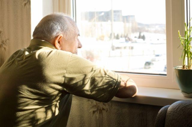 Больше всего пожилые люди боятся одиночества.