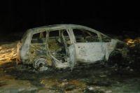 В Автозаводском районе обнаружена сгоревшая машина с мертвым водителем.