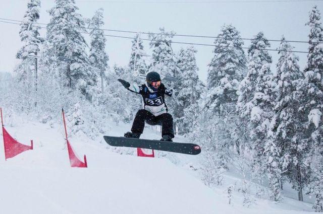 Сноубордист еще поборется за медали в другой дисциплине