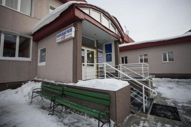 Избирательный участок в Сургуте