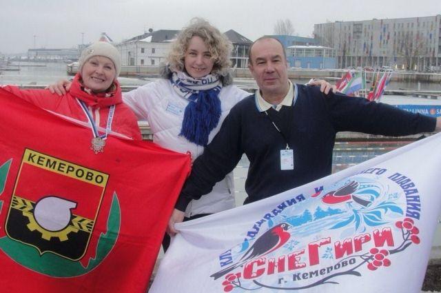 Кемеровчане стали одними из лучших на Чемпионате Мира по зимнему плаванию.