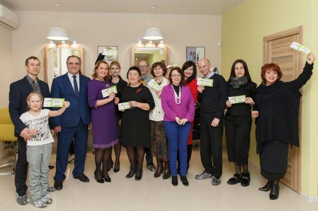 Тюменский деловой Клуб по-весеннему организовал встречу в салоне красоты