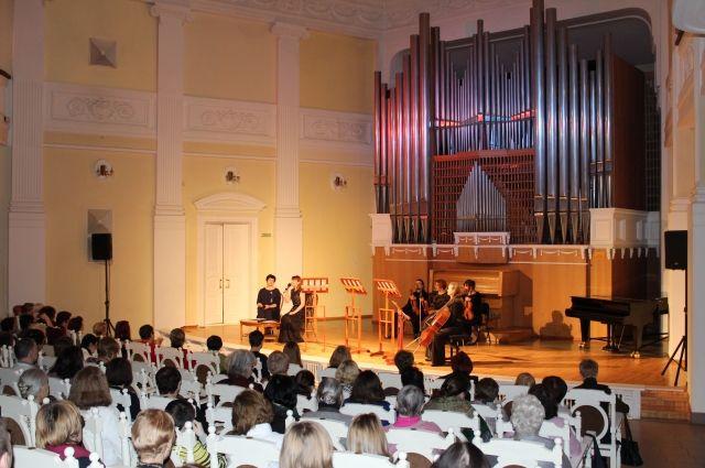 Зрители Органного зала филармонии стали свидетели эксперимента.
