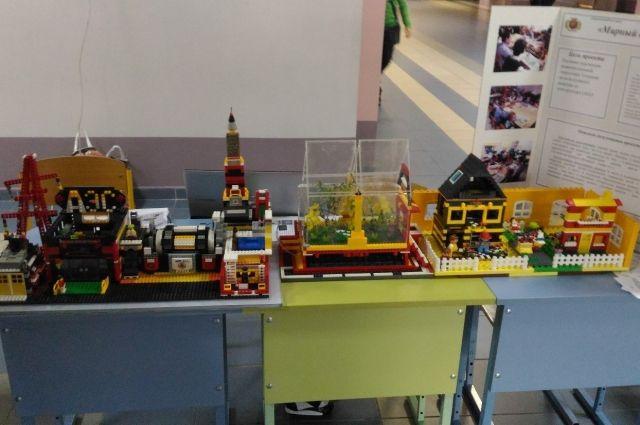 Школьник из Гусева создал макет атомного реактора из конструктора «Лего».