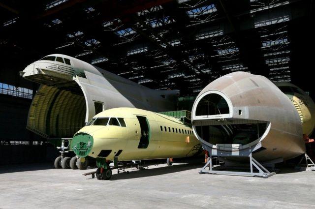 Харьковский авиазавод перезапускает производство самолетов Ан-74 и ХАЗ-30