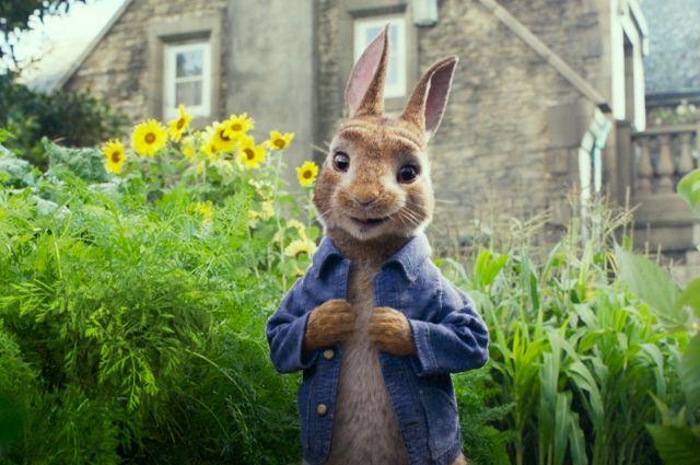 «Арлекино» разыграет билеты на предпремьерный показ фильма о кролике Питере.