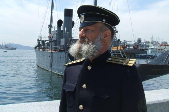 Гордость края - боевые корабли и крепость, защитившая город от неприятеля.