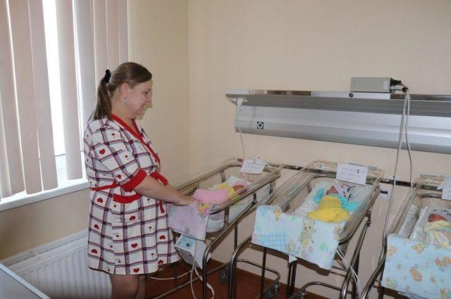 В Кузбассе родилась первая в 2018 году тройня.
