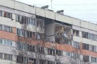 В доме обрушилось несколько этажей.