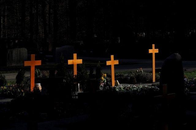 Под Тюменью злоумышленники похитили сетку-рабицу с кладбища