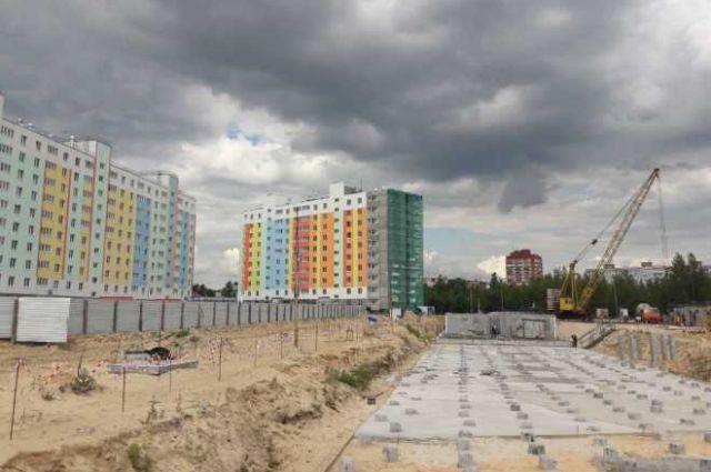Сегодня на Ямале строится 140 домов, это 220 тысяч квадратных метров жилья.